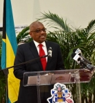 PM Minnis opens General Post Office in Town Centre Mall