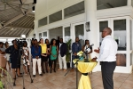 Prime Minister hosted Reception for Bahamian Summer Students in Jamaica
