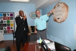The Governor General, Welcomed on Tour of 'The Sign Man'