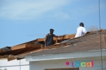 Tornado Touches Down In Nassau, Bahamas photos