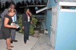 Minister Rolle Inspects Refurbishment of South Beach Pools Facility