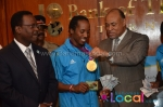 Bank of the Bahamas, an award-winning bank rewards medal-winning athletes