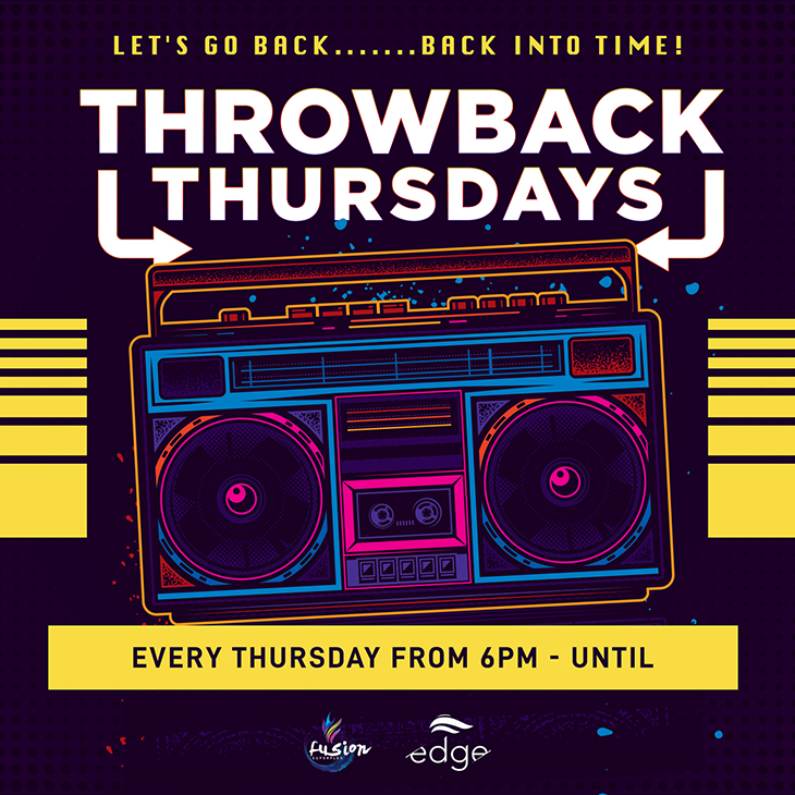 Throwback Thursdays at Fusion Superplex