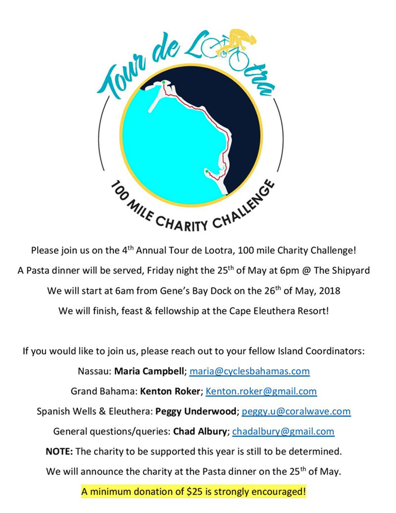 Tour De Lootra   100 Mile Charity Challenge