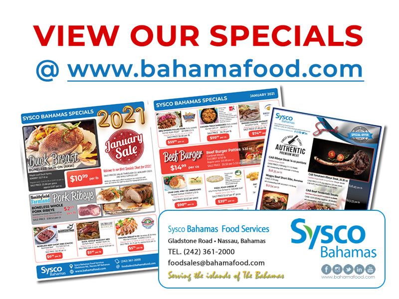 Sysco Bahamas View Our Specials