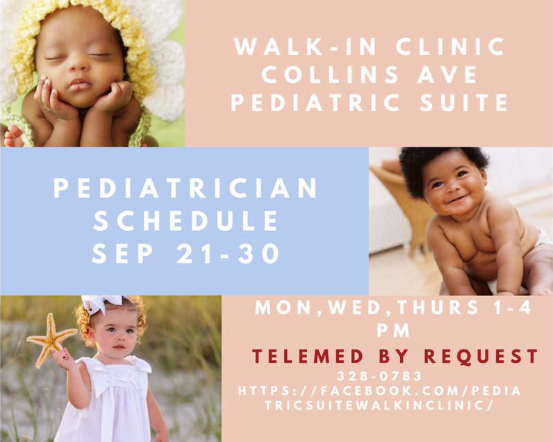 Dr. Chisholm, Pediatrician Schedule