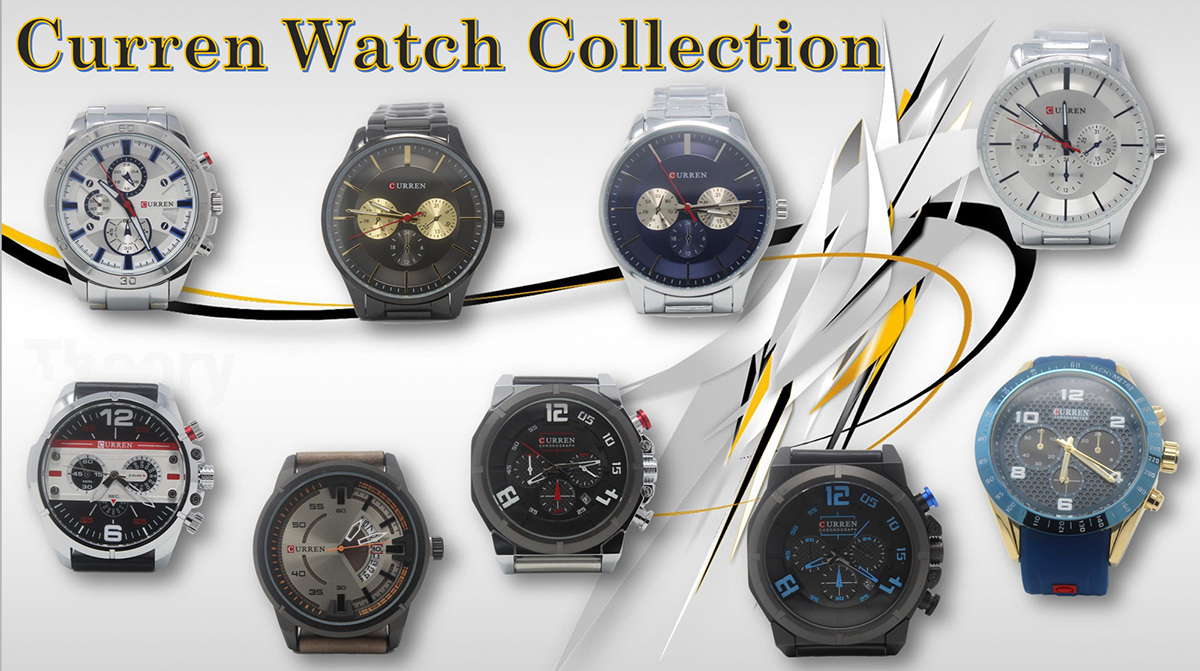Curren Watch Collection