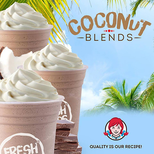 Coconut Blends at Wendys