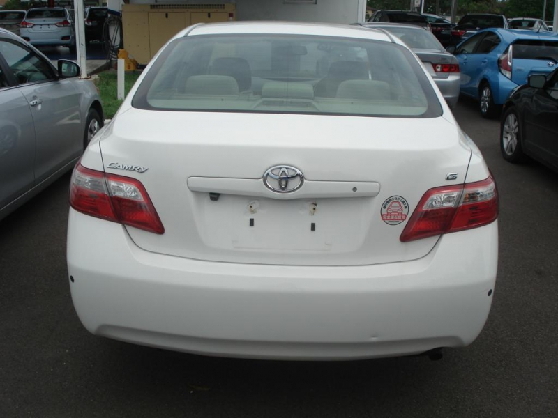 2008 toyota camry toyota camry white. Black Bedroom Furniture Sets. Home Design Ideas