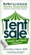 Butler's Home Essentials Tent Sale