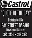 Castrol Quote of the Day: August 31, 2016