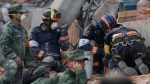 Mexico earthquake: Race to save children under collapsed school