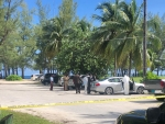 Body discovered in a car on Goodman's Bay this morning