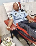 Police force shows the way in blood donation challenge