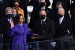 History-Making Moment-Kamala Harris FIRST WOMAN to be sworn-in as Vice-President of The United States