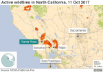 California fires: Scores missing as death toll rises to 17