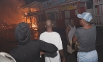 Vendors watched, helpless, as stalls went up in flames