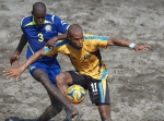Beach Soccer - Bahamas win in up-and-down thriller