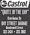 Castrol Quote of the Day: January 18, 2018