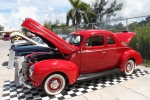 Antique car show at Arawak Cay