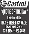 Castrol Quote of the Day: July 19, 2018