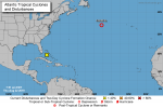 Tropical Depression Chantal Slowing Down