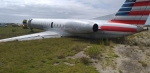 American Airline Crash Lands in Freeport Grand Bahama