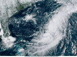 New Tropical Depression Forms Midway between Bermuda and The United States