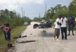 Man dies after crash in Abaco