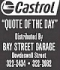 Castrol Quote of the Day: August 14, 2017