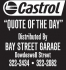 Castrol Quote of the Day: March 31st