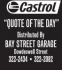 Castrol Quote of the day: November 14, 2015