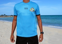 Official Beach Soccer Game Top (Aquamarine) - ADULT