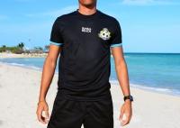 Official BFA Beach Soccer Goalkeeper Game Top (Black) - ADULT