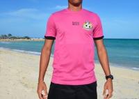 Official BFA Beach Soccer Goalkeeper Game Top (Pink) - CHILD
