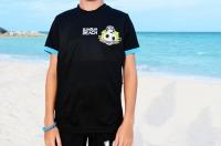 Official BFA Beach Soccer Goalkeeper Game Top (Black) - CHILD