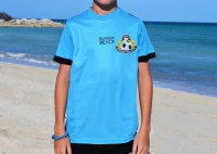 Official Beach Soccer Game Top (Aquamarine) - CHILD