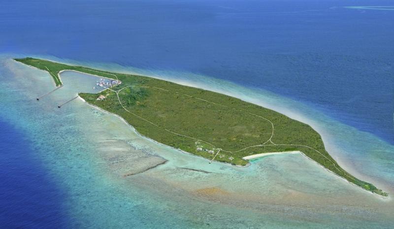big fish cay - private island