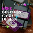 Free Business Card Design with Specialty Card Purchase