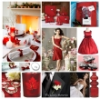 Red Winter Inspired Wedding