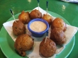 Conch Fritters at Johnny Canoe