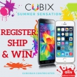 Register, Ship Win with CUBIX!